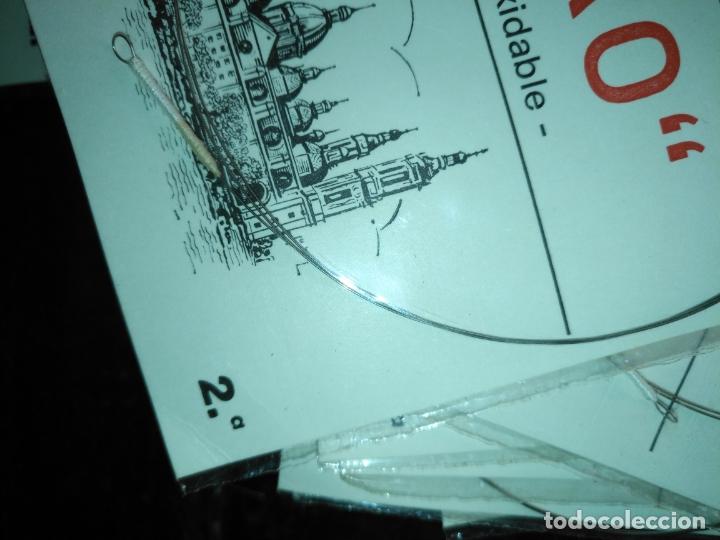 Instrumentos musicales: ANTIGUA CUERDA DE BANDURRIA ACERO inoxidable marca ebro 2 ª NOTA O CUERDA - Foto 3 - 175321562