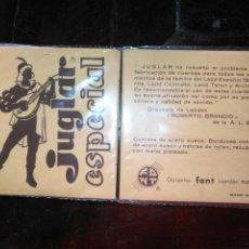 Instrumentos musicales: ANTIGUA CUERDA DE BANDURRIA JUGLAR ESPECIAL FONT CUERDAS MUSICALES 2ª. Lote 175322834