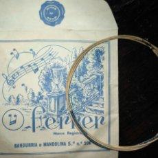 Instrumentos musicales: ANTIGUA CUERDA DE BANDURRIA O MANDOLINA 5ª NOTA O POSICION N.º 206 FERRER . Lote 175323872