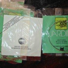 Instrumentos musicales: ANTIGUA CUERDA DE GUITARRA 2ª SI B 02 0092 ACERO SUECO FERRER / GATO NEGRO . Lote 175326099