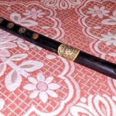 Instrumentos musicales: EXTRAORDINARIA Y MUY ANTIGUA FLAUTA DE INDIA, BENGAL FLUTE CALCUTA G.DAS // FLAUTA BENGALÍ. Lote 175362685