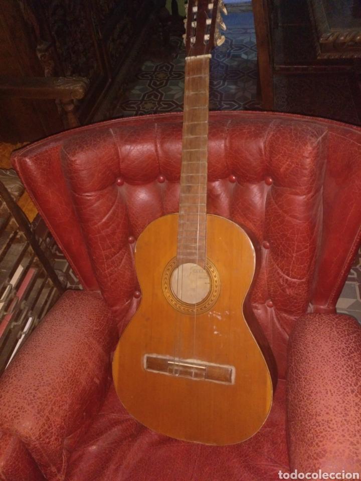 GUITARRA RICHOLY ALMERÍA (Música - Instrumentos Musicales - Guitarras Antiguas)
