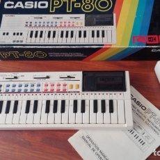 Instrumentos musicales: CASIO PT-80 FUNCIONANDO VER VIDEO CON CAJA E INSTRUCCIONES. Lote 175674483