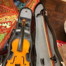Instrumentos musicales: PRECIOSO VIOLIN MINIATURA EN SU CAJA. Lote 175789113