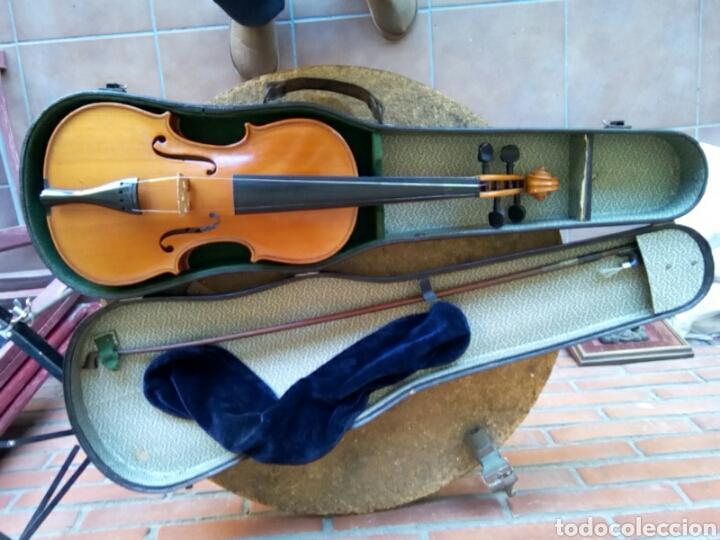 VIOLÍN 3/4 DE 60CTM. DE LARGO . (Música - Instrumentos Musicales - Cuerda Antiguos)