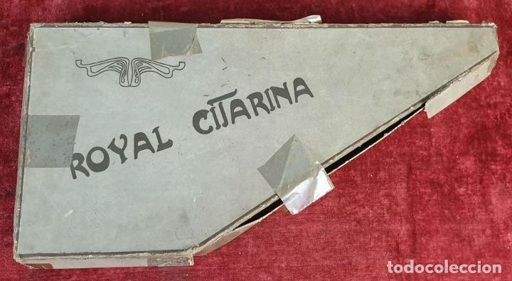 Instrumentos musicales: ROYAL CITARINA. CÍTARA. 15 CUERDAS. DIATÓNICA. CAJA DE MADERA. CIRCA 1950. - Foto 5 - 176072174