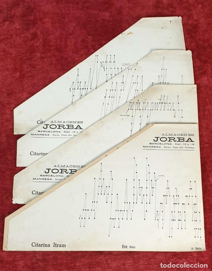 Instrumentos musicales: ROYAL CITARINA. CÍTARA. 15 CUERDAS. DIATÓNICA. CAJA DE MADERA. CIRCA 1950. - Foto 10 - 176072174