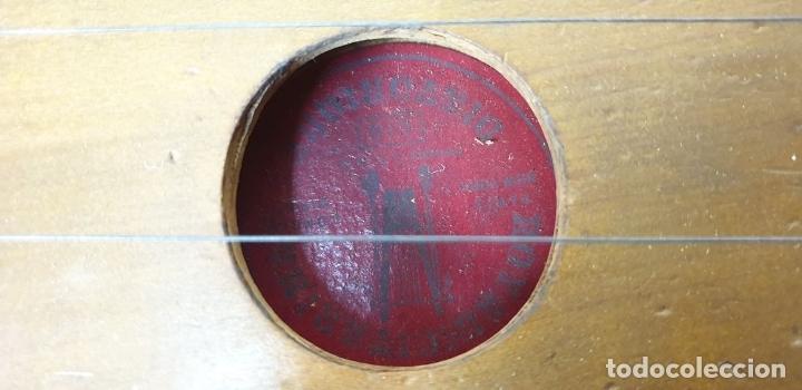 Instrumentos musicales: ROYAL CITARINA. CÍTARA. 15 CUERDAS. DIATÓNICA. CAJA DE MADERA. CIRCA 1950. - Foto 11 - 176072174