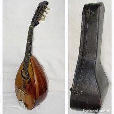 Instrumentos musicales: MANDOLINA CAMPANELLO D'ORO ITALIA-PRINCIPIOS 1900-PALOSANTO, ÉBANO… NO INCUMPLE LEY CITES, SEPRONA. Lote 176074640