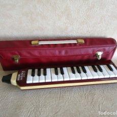 Instrumentos musicales: MELODICA HOHNER ARMONICA MELODICA PIANO 27 CON ESTUCHE. Lote 46225460