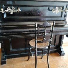 Instrumentos musicales: PIANO (CHASSAIGNE FRÈRES) CON SILLA.. Lote 176265178