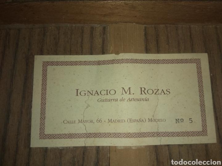 Instrumentos musicales: Guitarra clásica española Ignacio M. Rozas. - Foto 22 - 176285747