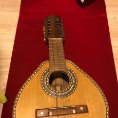 Instrumentos musicales: BANDURRIA TELESFORO JULVE OLD MANDOLIN. Lote 176341959