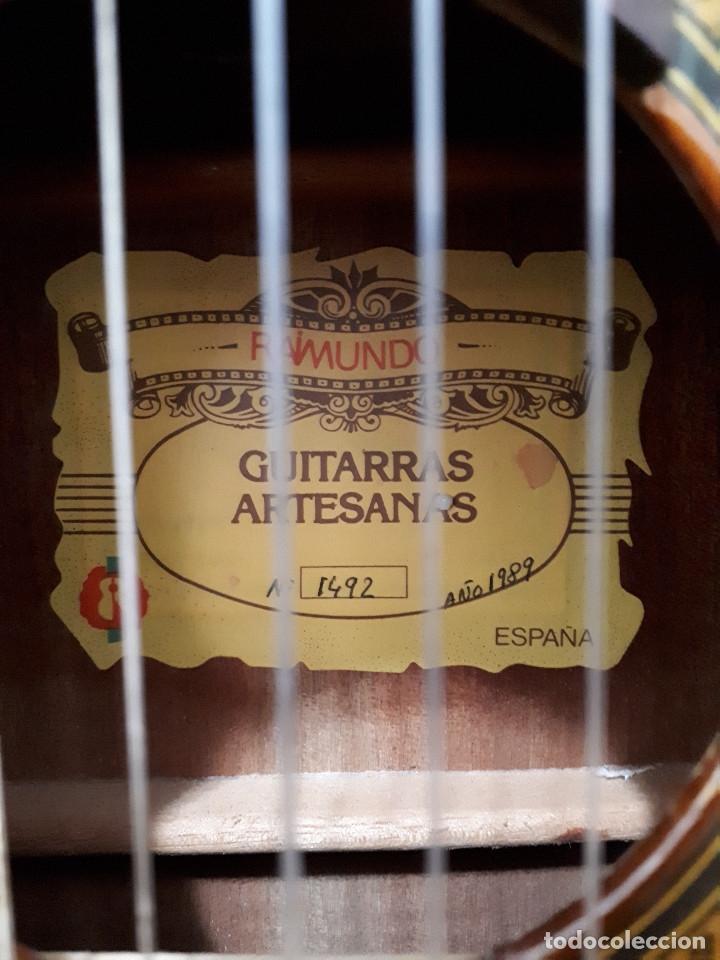 Instrumentos musicales: Guitarra española Raimundo 1492. Escala 61 cm (3/4) - Foto 3 - 176498695