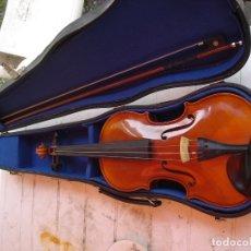 Instrumentos musicales: BONITO VIOLIN CON SU ESTUCHE ESTA EN PERFECTO ESTADO CER FOTOS Y DESCRIPCCION. Lote 176525082