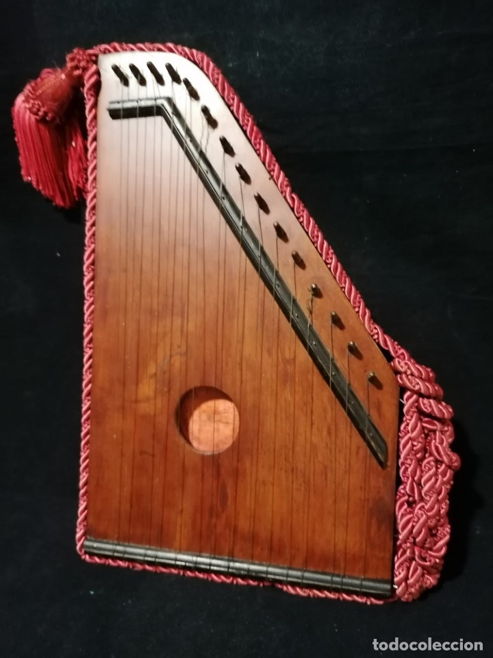 ANTIGUA CITARA ROYAL DIATONIQUE PRINCIPIOS S.XX (Música - Instrumentos Musicales - Cuerda Antiguos)