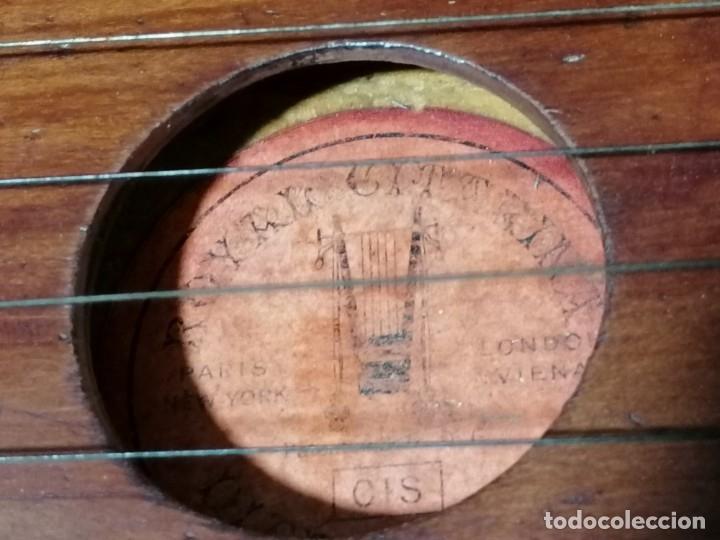 Instrumentos musicales: Antigua Citara Royal Diatonique principios s.XX - Foto 8 - 176531612