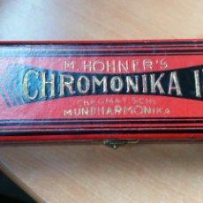 Instrumentos Musicais: ARMÓNICA CHROMONIKII M.HOHNER (FABRICADA EN ALEMANIA). Lote 176536504