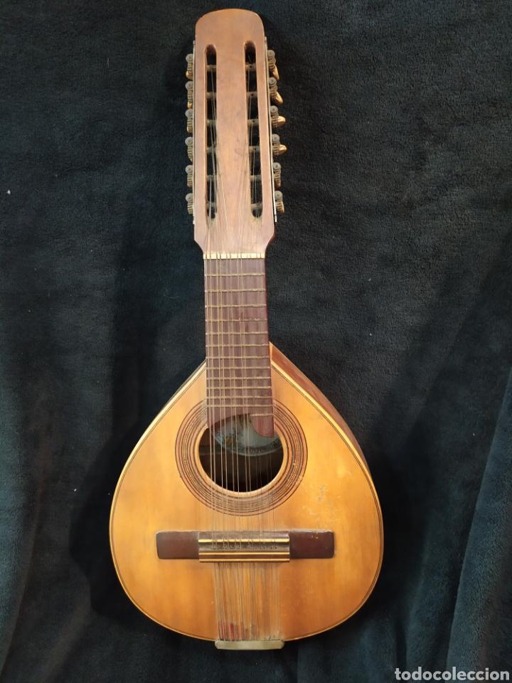 BANDÚRRIA GUILLERMO LLUQUET. VALENCIA. (Música - Instrumentos Musicales - Cuerda Antiguos)