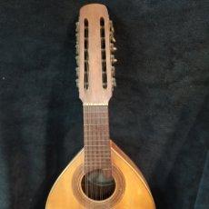 Instrumentos musicales: BANDÚRRIA GUILLERMO LLUQUET. VALENCIA.. Lote 176963544