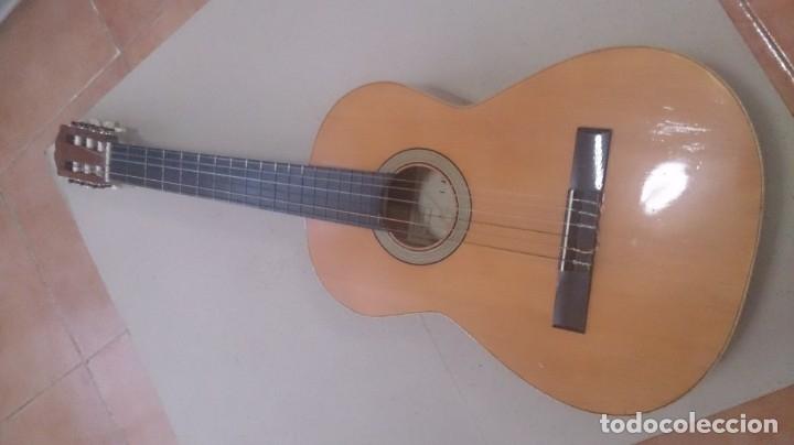 GUITARRA J ALVAREZ (Música - Instrumentos Musicales - Guitarras Antiguas)