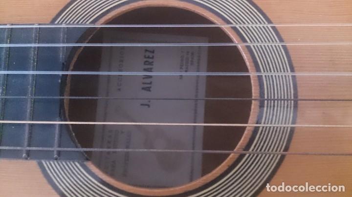 Instrumentos musicales: Guitarra J ALVAREZ - Foto 10 - 177072242