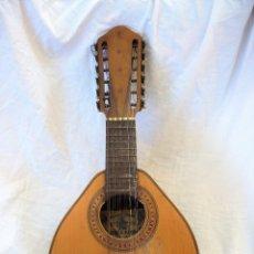 Instrumentos musicales: BANDURRIA, MANDOLINA DEL SIGLO XIX, FABRICADA POR ANDRES MARIN EN VALENCIA. VINTAGE.. Lote 177259994