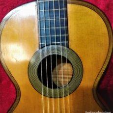 Instrumentos musicales: GUITARRA ROMÁNTICA MODELO LACOT FINALES 1820-30. Lote 177414557