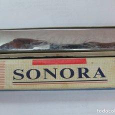 Instrumentos musicales: HARMONICA SONORA EN METAL EN CAJA ORIGINAL. Lote 177486480