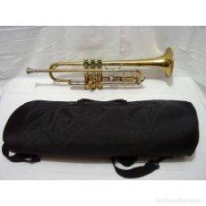 Instrumentos musicales: ANTIGUA TROMPETA CON BAÑO DORADO AMATI KRASLICE - CHECOSLOVAQUIA - CON FUNDA Y BOQUILLA. Lote 177603125