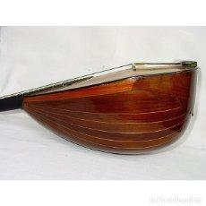 Instrumentos musicales: ITALIA-PRINCIPIOS 1900-MANDOLINA-MADERAS NOBLES-MARQUETERÍA-ESTUCHE-MARCA AL FUEGO CAMPANELLO D'ORO. Lote 177604193