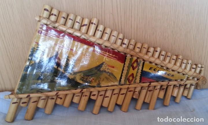 Instrumentos musicales: FLAUTA DE PAN. Silbato de Ecuador. Tipo armónica - Foto 3 - 210549291
