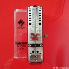 Instrumentos musicales: METRÓNOMO WITTNER SUPER MINI TAKTELL. Lote 178211656