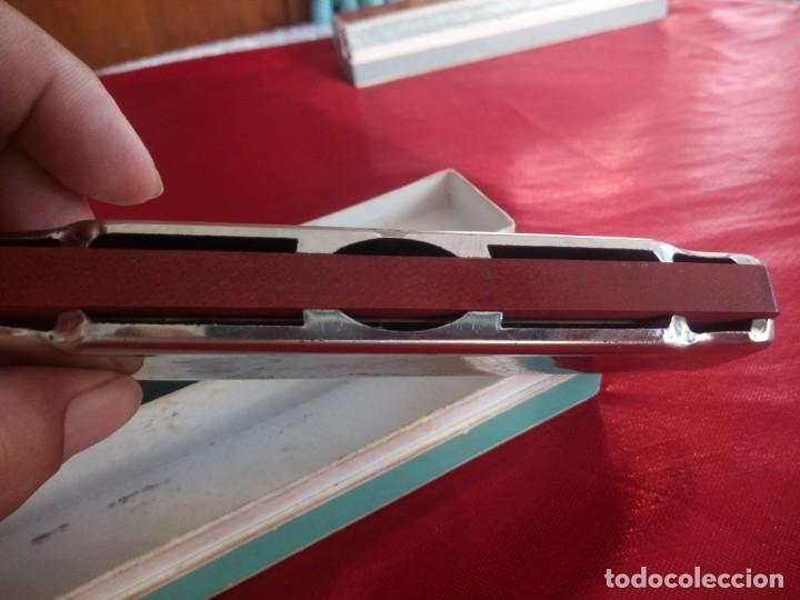 Instrumentos musicales: Antigua armonica bandleader made in china.Años 70,en caja original - Foto 4 - 178232170