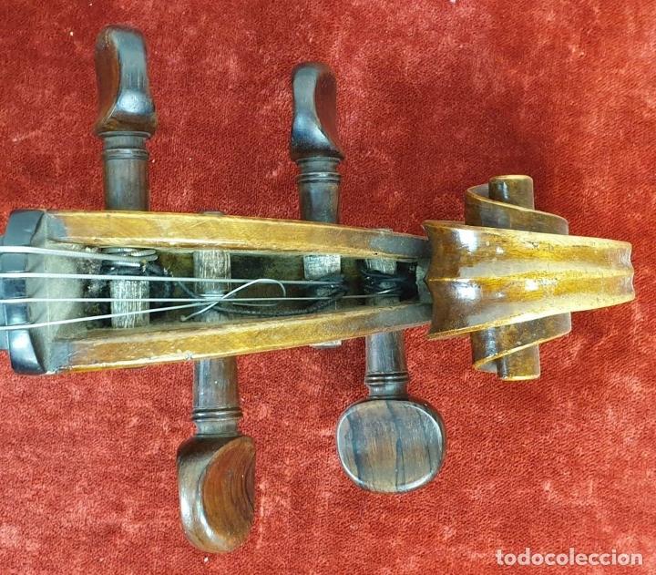 Instrumentos musicales: VIOLONCHELO. FIRMADO EN EL PUENTE. FM. FLETA. MEDIDA 3/4. CIRCA 1920. - Foto 3 - 178580287