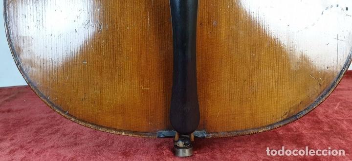 Instrumentos musicales: VIOLONCHELO. FIRMADO EN EL PUENTE. FM. FLETA. MEDIDA 3/4. CIRCA 1920. - Foto 4 - 178580287