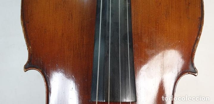 Instrumentos musicales: VIOLONCHELO. FIRMADO EN EL PUENTE. FM. FLETA. MEDIDA 3/4. CIRCA 1920. - Foto 7 - 178580287