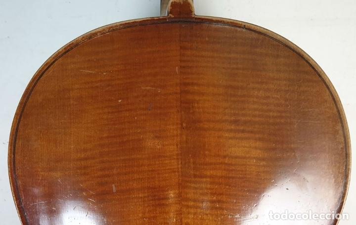 Instrumentos musicales: VIOLONCHELO. FIRMADO EN EL PUENTE. FM. FLETA. MEDIDA 3/4. CIRCA 1920. - Foto 8 - 178580287