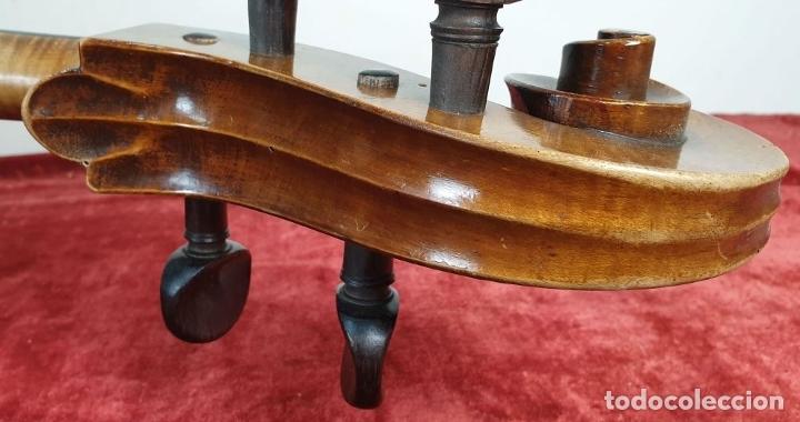 Instrumentos musicales: VIOLONCHELO. FIRMADO EN EL PUENTE. FM. FLETA. MEDIDA 3/4. CIRCA 1920. - Foto 11 - 178580287