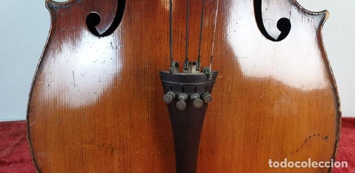 Instrumentos musicales: VIOLONCHELO. FIRMADO EN EL PUENTE. FM. FLETA. MEDIDA 3/4. CIRCA 1920. - Foto 13 - 178580287