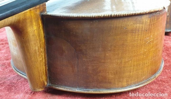 Instrumentos musicales: VIOLONCHELO. FIRMADO EN EL PUENTE. FM. FLETA. MEDIDA 3/4. CIRCA 1920. - Foto 14 - 178580287