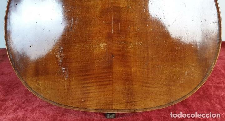 Instrumentos musicales: VIOLONCHELO. FIRMADO EN EL PUENTE. FM. FLETA. MEDIDA 3/4. CIRCA 1920. - Foto 15 - 178580287