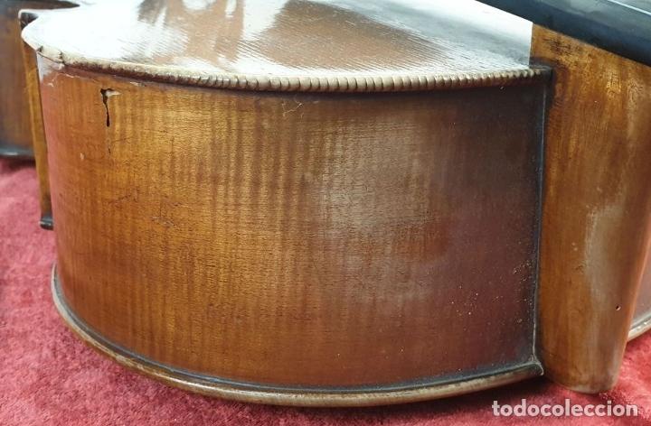 Instrumentos musicales: VIOLONCHELO. FIRMADO EN EL PUENTE. FM. FLETA. MEDIDA 3/4. CIRCA 1920. - Foto 16 - 178580287
