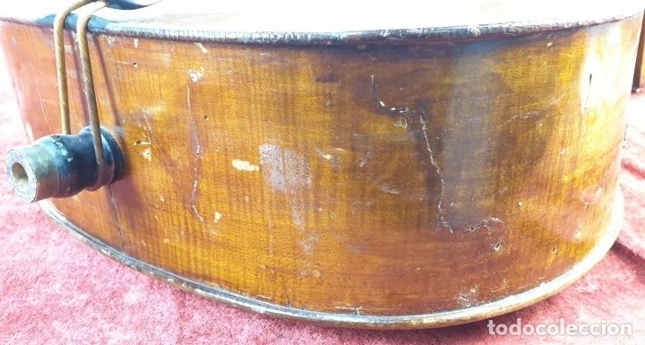 Instrumentos musicales: VIOLONCHELO. FIRMADO EN EL PUENTE. FM. FLETA. MEDIDA 3/4. CIRCA 1920. - Foto 18 - 178580287