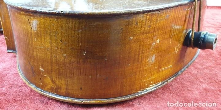 Instrumentos musicales: VIOLONCHELO. FIRMADO EN EL PUENTE. FM. FLETA. MEDIDA 3/4. CIRCA 1920. - Foto 19 - 178580287