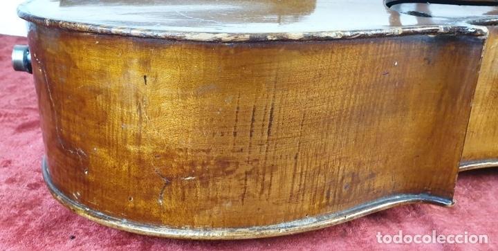 Instrumentos musicales: VIOLONCHELO. FIRMADO EN EL PUENTE. FM. FLETA. MEDIDA 3/4. CIRCA 1920. - Foto 20 - 178580287