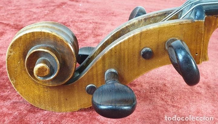 Instrumentos musicales: VIOLONCHELO. FIRMADO EN EL PUENTE. FM. FLETA. MEDIDA 3/4. CIRCA 1920. - Foto 31 - 178580287