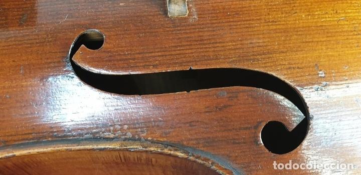Instrumentos musicales: VIOLONCHELO. FIRMADO EN EL PUENTE. FM. FLETA. MEDIDA 3/4. CIRCA 1920. - Foto 32 - 178580287