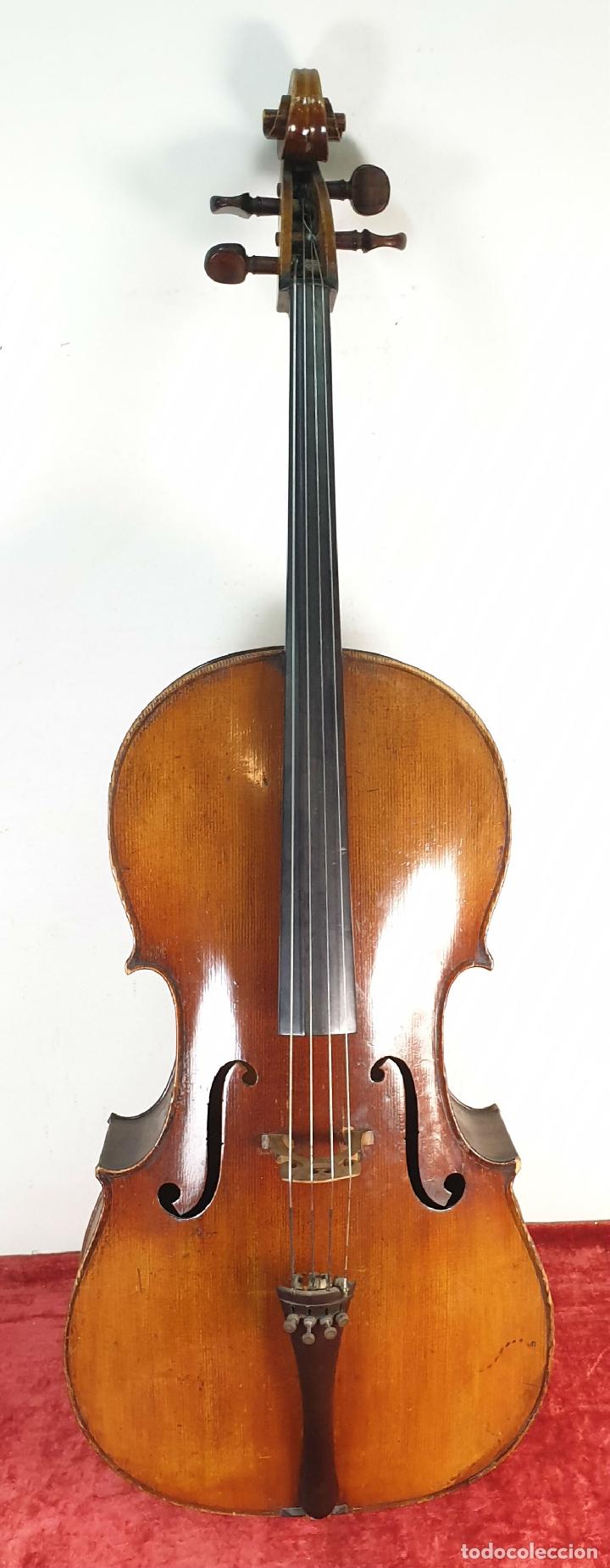 VIOLONCHELO. FIRMADO EN EL PUENTE. FM. FLETA. MEDIDA 3/4. CIRCA 1920. (Música - Instrumentos Musicales - Cuerda Antiguos)