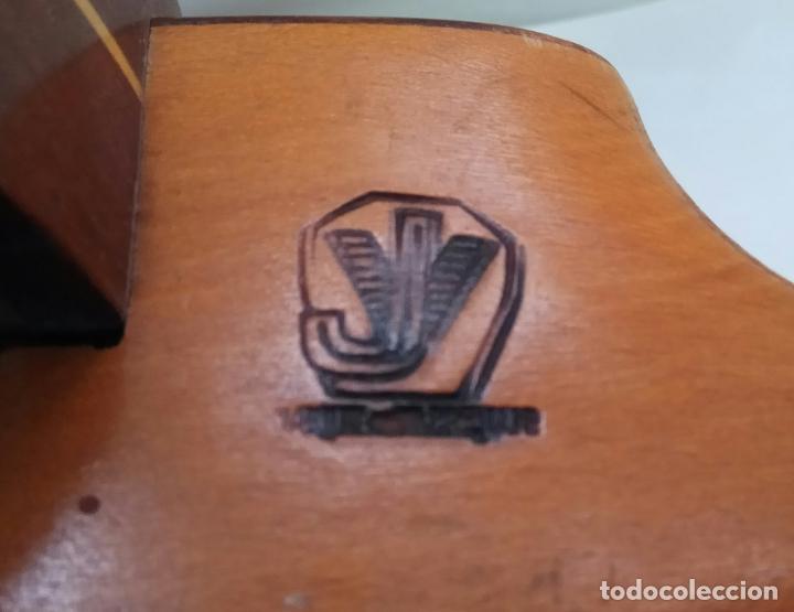 Instrumentos musicales: ANTIGUO BANJO-MANDOLINE VINCENT JACOBACCI FRANCIA 8 CUERDAS - Foto 5 - 178598850